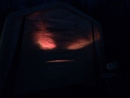 Eerie brooder lights-out